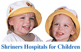 Click for more information on Shriners Hospitals for Children